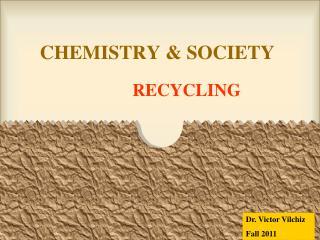 CHEMISTRY & SOCIETY