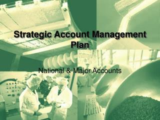 Strategic Account Management Plan