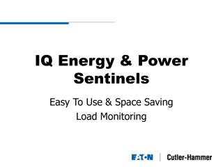IQ Energy & Power Sentinels