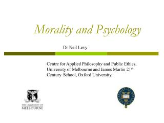 Morality and Psychology