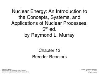 Chapter 13 Breeder Reactors