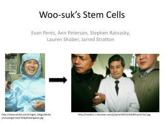 Woo- suk's  Stem Cells