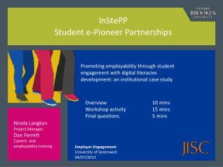 InStePP Student e-Pioneer Partnerships