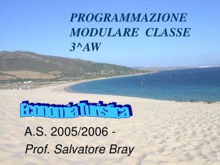 PROGRAMMAZIONE MODULARE  CLASSE 3^AW