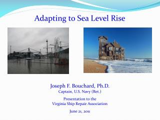 Adapting to  Sea Level Rise