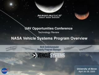 NASA Vehicle Systems Program Overview