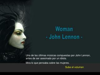Woman - John Lennon -