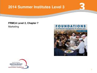 2014 Summer Institutes Level 3