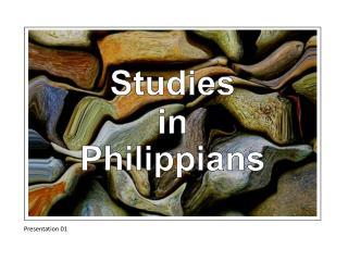 Studies in Philippians