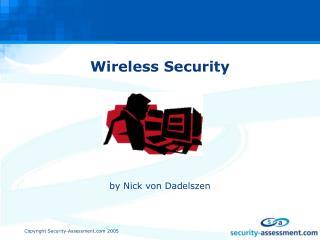Wireless Security by Nick von Dadelszen