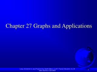 Chapter 27 Graphs and Applications