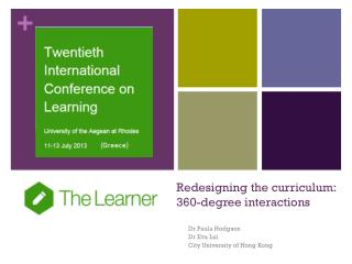 Redesigning the curriculum: 360-degree  interactions