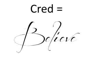 Cred  =