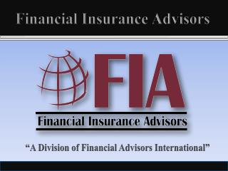 Financial Insurance Advisors