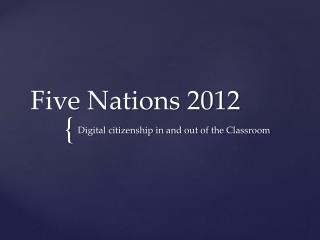 Five Nations 2012