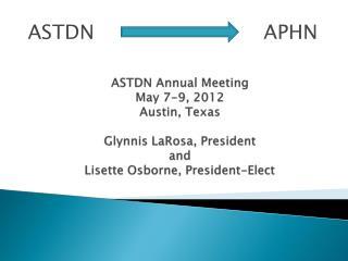 ASTDN                           APHN