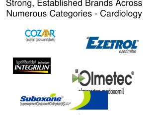 Strong, Established Brands Across Numerous Categories - Cardiology