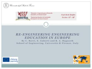 Re-engineering Engineering Education in Europe By  C. Borri, E.  Guberti  and R. A.  Hagaseth