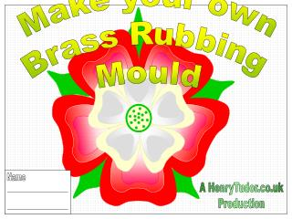 Make your own Brass Rubbing Mould