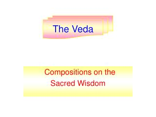 Compositions on the  Sacred Wisdom