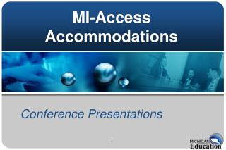MI-Access Accommodations