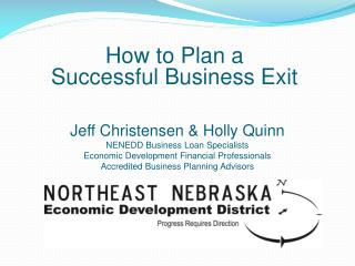 How to Plan a  Successful Business Exit