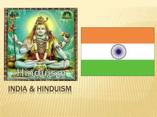 India & Hinduism
