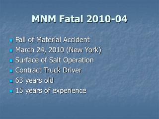 MNM Fatal 2010-04