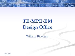 TE-MPE-EM Design Office