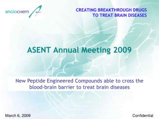 ASENT Annual Meeting 2009