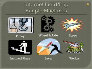 Internet Field Trip  Simple Machines