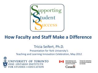 How Faculty and Staff Make a Difference