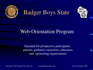 Badger Boys State