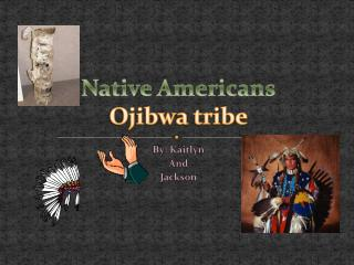 Native Americans Ojibwa tribe