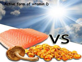 Active form of vitamin D