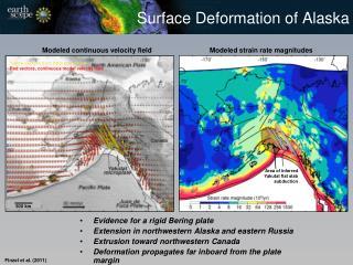 Surface Deformation of Alaska