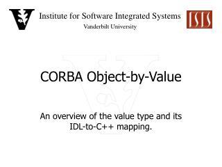CORBA Object-by-Value