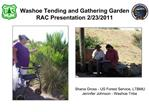 Washoe Tending and Gathering Garden RAC Presentation 2