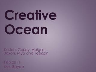 Creative Ocean