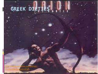 Greek  Dieties