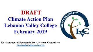 Draft Action Plan Community Meetings