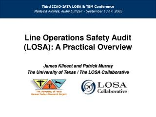 Practical overview of the LOSA process
