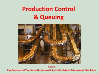 Production Control & Queuing