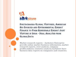 Suryachakra Global Ventures, American Bio Sources and Enviro