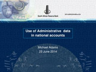 Use of Administrative  data in national accounts