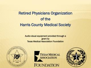 Retired Physicians Organization of the Harris County Medical Society