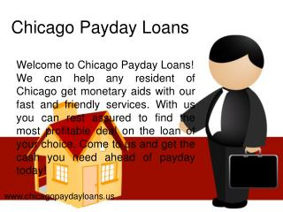 Chicago Payday Loans- Short Term Installment Loans- Same Day