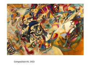 Composition VII, 1913