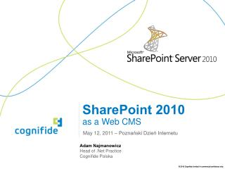 SharePoint 2010 as a Web CMS