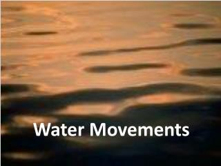 Water Movements